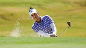 Furman women's golf in second through two rounds